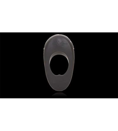 Anillo Vibrador Atom Plus Estimulacion Perianal Negro