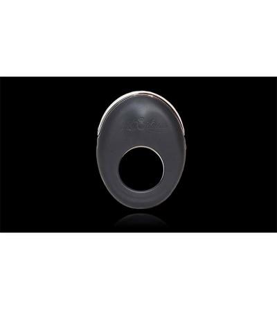 Anillo Vibrador Atom Negro