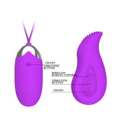 Pretty Love Vibrador a Control Remoto Eden Color Purpura
