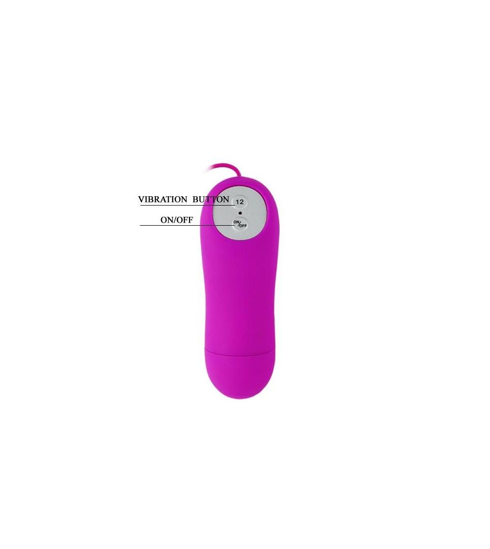 Pretty Love Huevo Vibrador Harriet Color Purpura