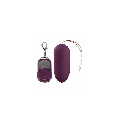Huevo Vibrador 10 Funciones Dark Purple