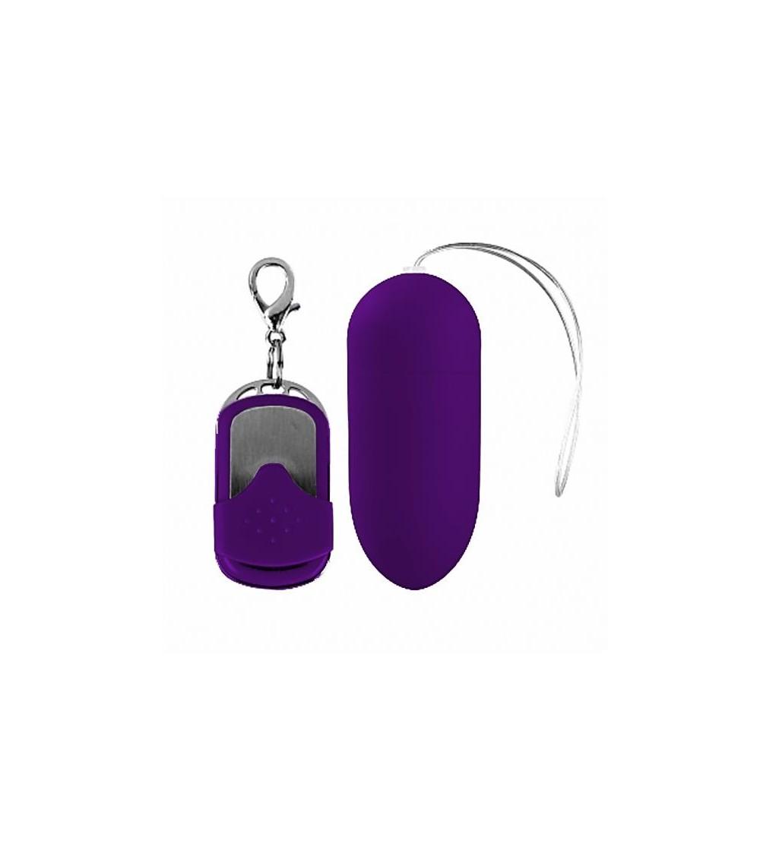 Huevo Vibrador con Control Remoto Purpura Oscuro