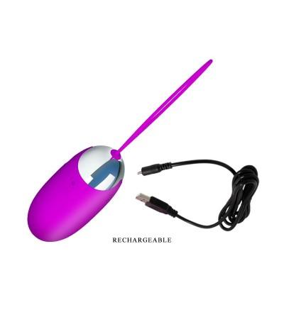 Pretty Love Huevo Vibrador Benson Color Rosa