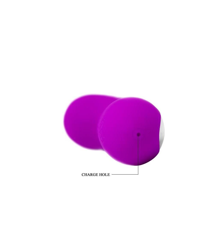 Pretty Love Mini Masajeador Hiram Color Purpura