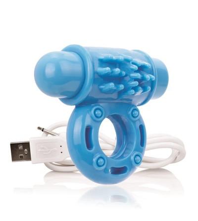 Charged Anillo Vibrador Owow Azul