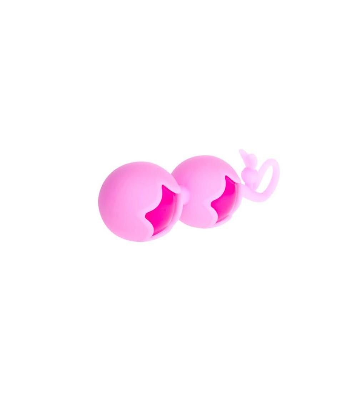 Baile Bolas de Silicona Rosa y Purpura