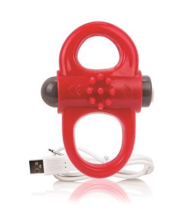 Charged Anillo Vibrador Yoga Rojo