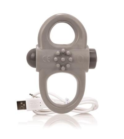 Charged Anillo Vibrador Yoga Gris