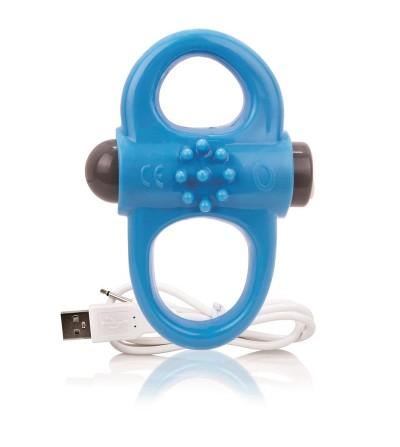 Charged Anillo Vibrador Yoga Azul