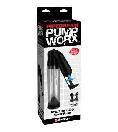 Pump Worx Succionador Deluxe Sure Grip Color Negro