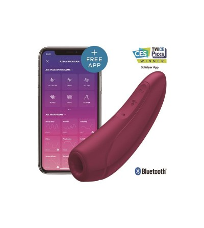 Estimulador Curvy 1+ Rose Red