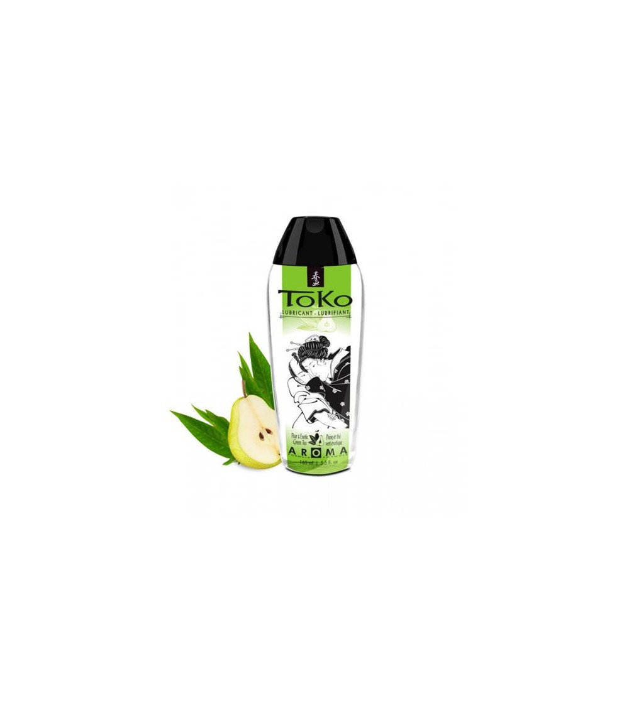Lubricante Toko Aroma Pera y Te Verde