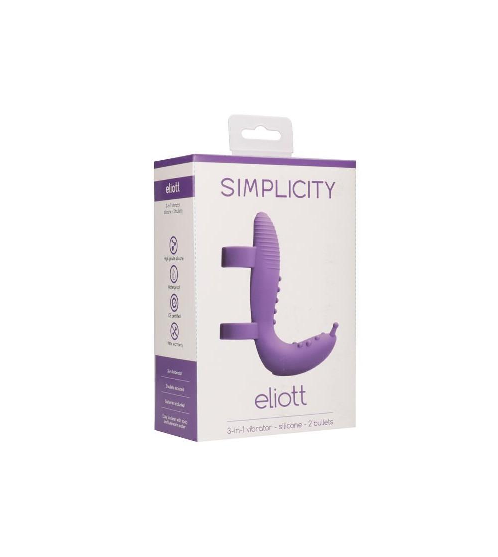 Set Extension Vibrador Eliott Purpura