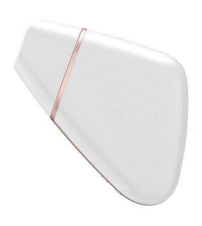 Succionador de Clitoris Love Triangle Blanco