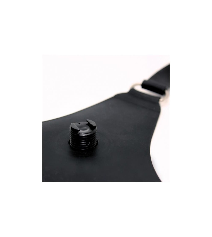 Rimba Latex Play Arnes con Dildo Color Negro