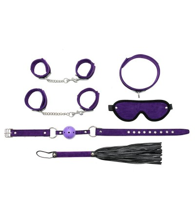 Rimba Bondage Play Set de Bondage 6 Piezas Color Purpura