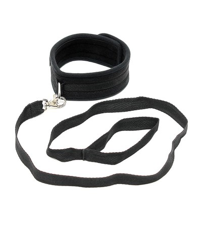 Collar con Correa Ajustable Color Negro
