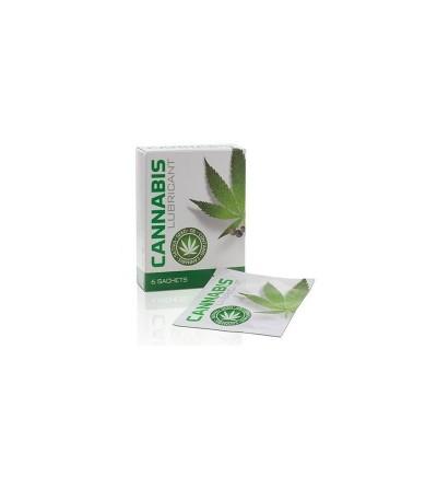 Monodosis Lubricante Cannabis 6 x 4 ml