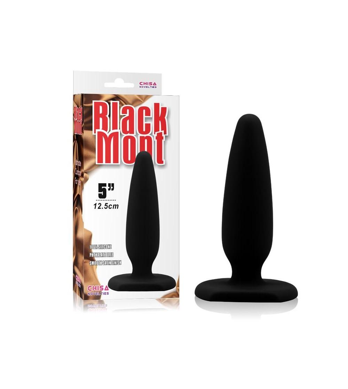 Plug Anal 134 x 37 cm Silicona Negro