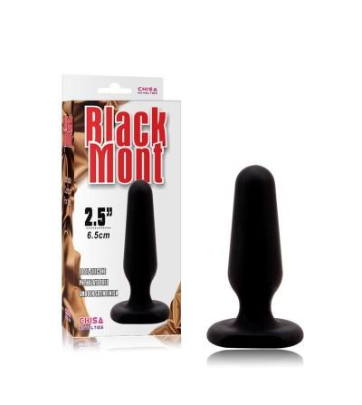 Plug Anal Silicona 75 x 25 cm Negro