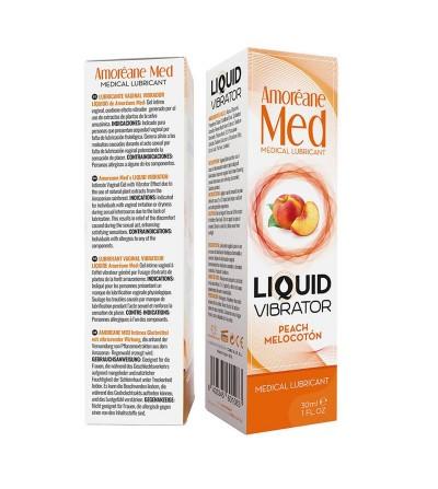Vibrador Liquido Sabor Melocoton 30 ml