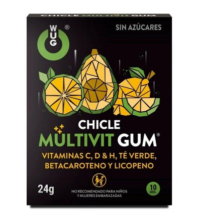 Chicles Multivit Gum 10 Uds