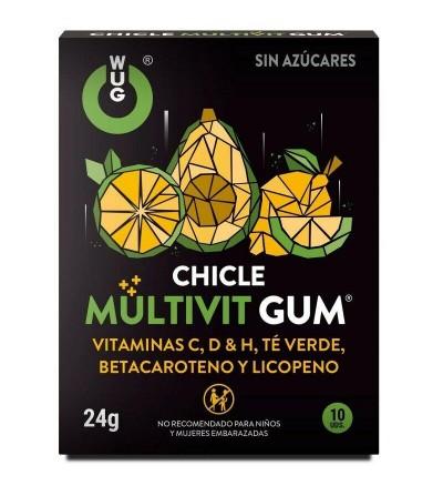 Chicles Multivit Gum 10 Uds