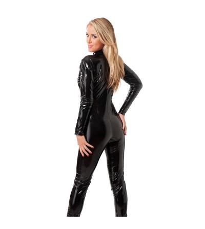 Rimba Amorable Catsuit con Cremallera Color Negro
