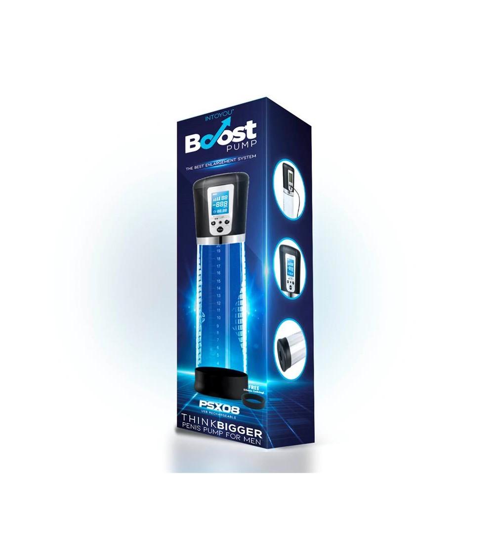 Bomba Automatica para el Pene con Pantalla LCD PSX08 USB