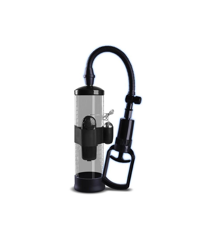 Bomba Manual para el Pene con Accesorio de Vibracion PSX06