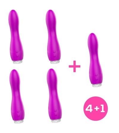 Pack 41 Douby Vibrador Silicona Purpura