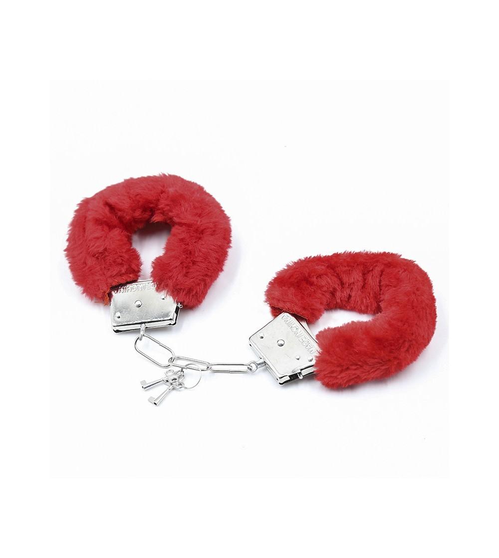 Esposas de Metal para Munecas con Pelo Rojo