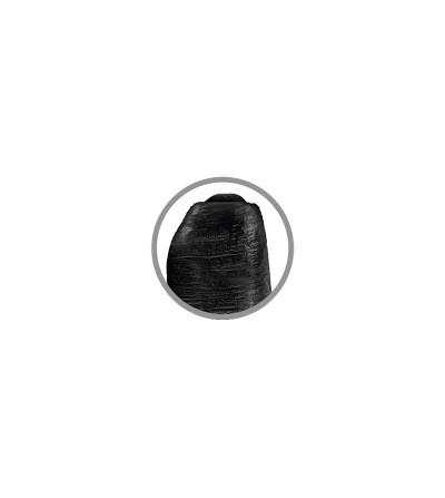 Dildo Realista con Glande Retractil Color Negro 6