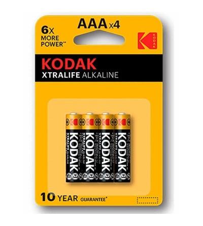 Xtralife Pila Alcalina AAA LR3 Blister de 4