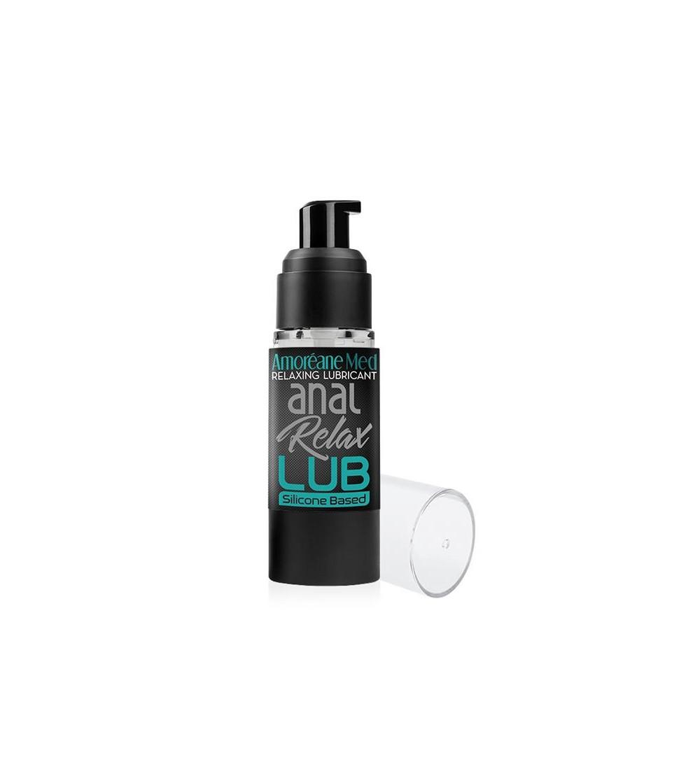 Lubricante Relajante Anal Base de Silicona 30 ml