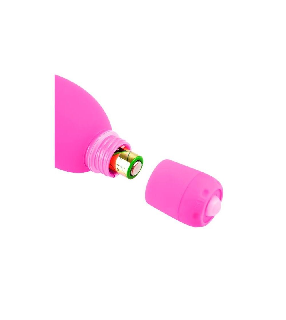 Neon Mini Vibrador Luv Bunny Rosa