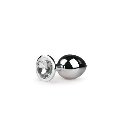 Plug de Aluminio No2 Plata Transparente