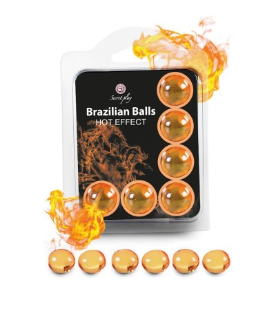 Brazilian Balls Set 6 Efecto Calor