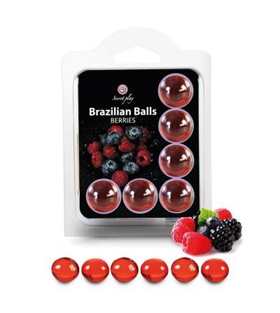 Brazilian Balls Set 6 Frutas del Bosque