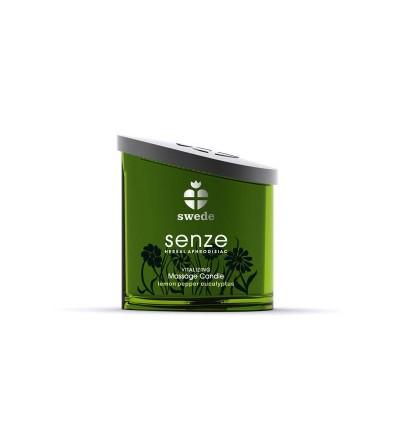 Senze Vela de Masaje Limon Pimienta y Eucaliptus Vitalizing 150 ml