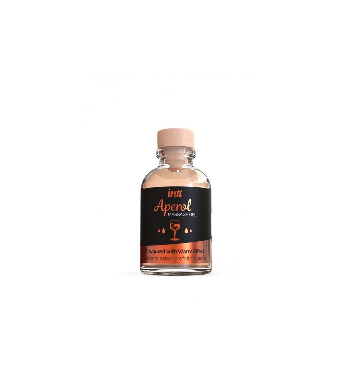 Gel de Masaje Sabor Aperol Efecto Calor 30 ml