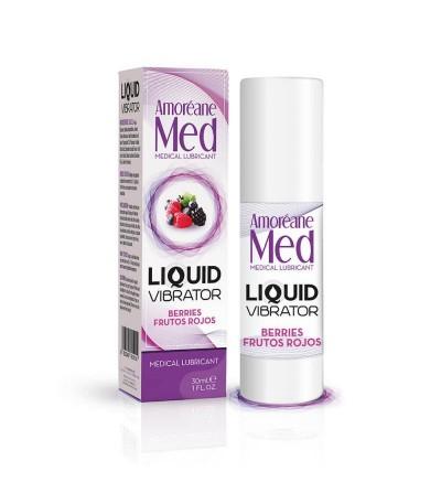 Vibrador Liquido Sabor Frutos del Bosque 30 ml