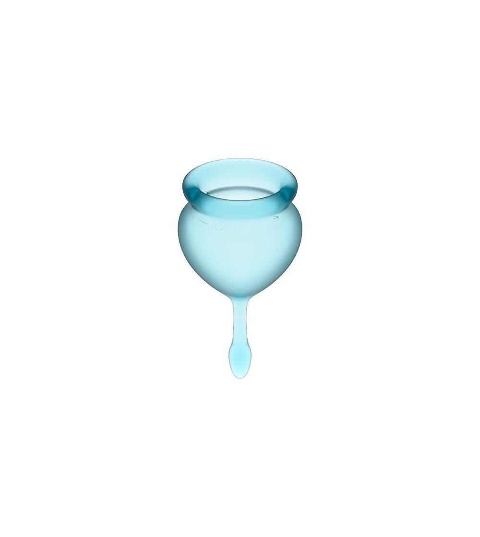 Copas Menstruales Feel Good Light Blue Pack de 2