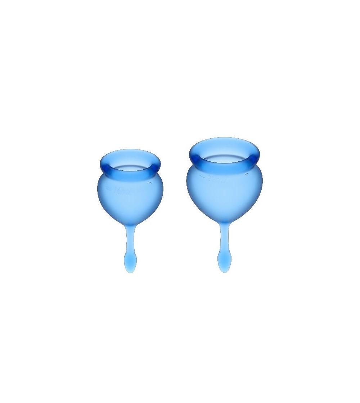 Copas Menstruales Feel Good Dark Blue Pack de 2