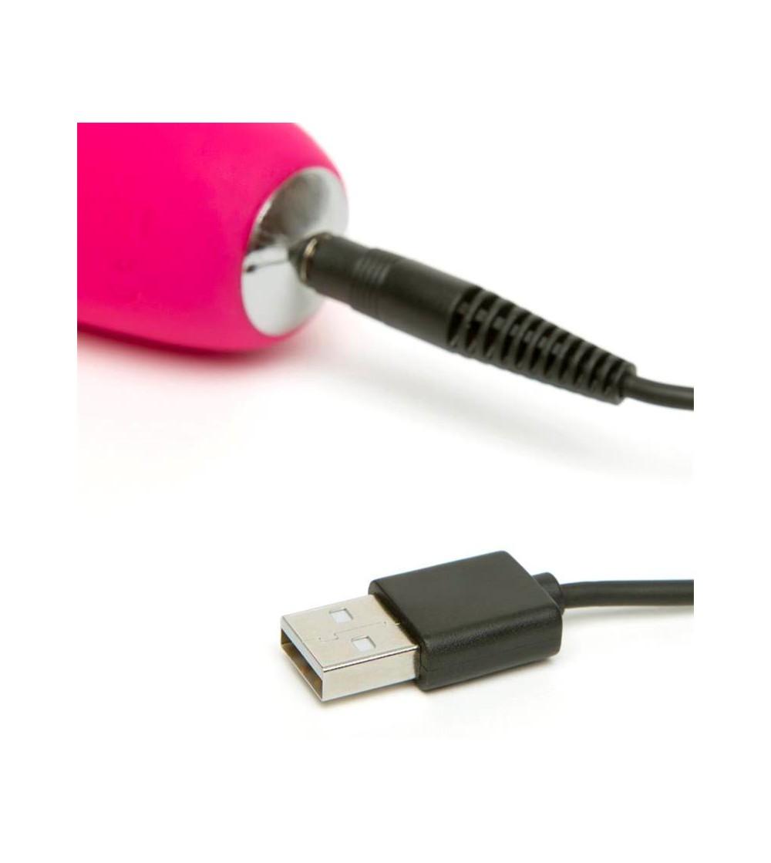 Vibrador Slimline Curve USB Rosa