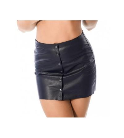 Mini Falda de Cuero Talla 40