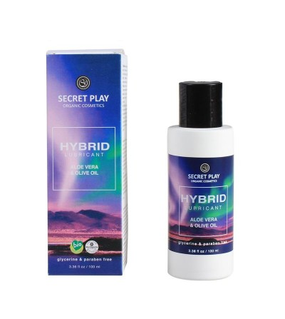 Secret Play Lubricante Organico Hybrid