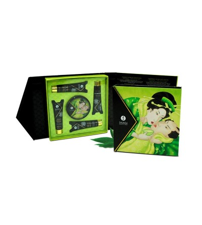 Shunga Kit Secretos de una Geisha Te Verde