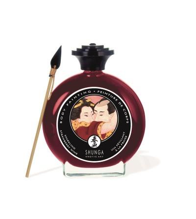 Shunga Pintura Besable Sabor Vino de Fresa