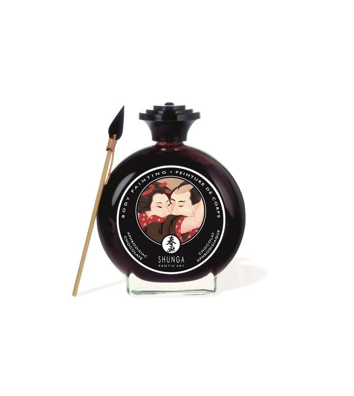 Shunga Pintura Besable Sabor Chocolate